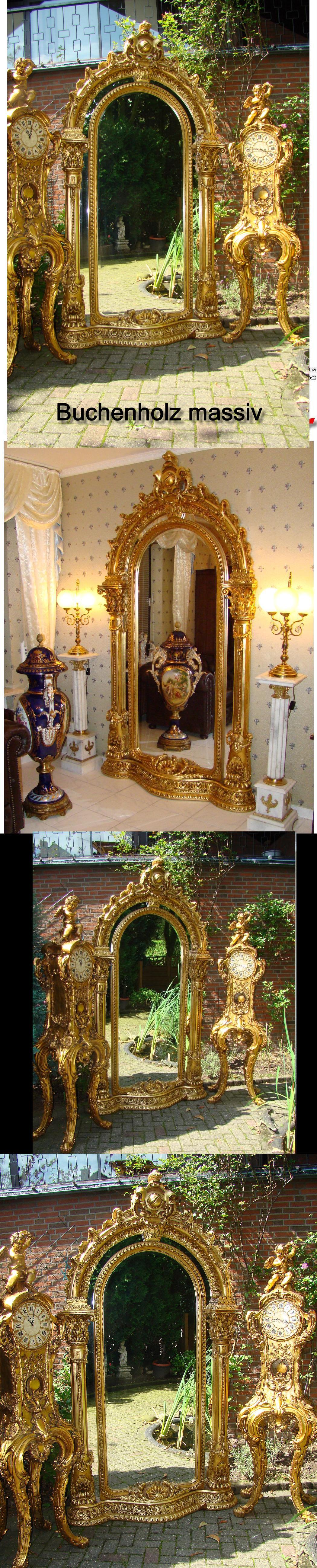 Spiegel salon im louis seize stil massiv holz 248x136 ebay - Spiegel salon ...