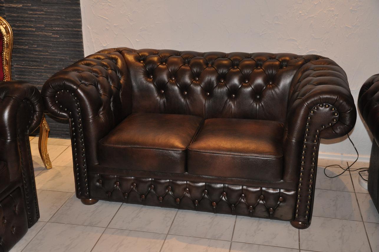 Chesterfield Sofa Gebraucht Couch Schlaffunktion Wohnzimmer Jtleigh