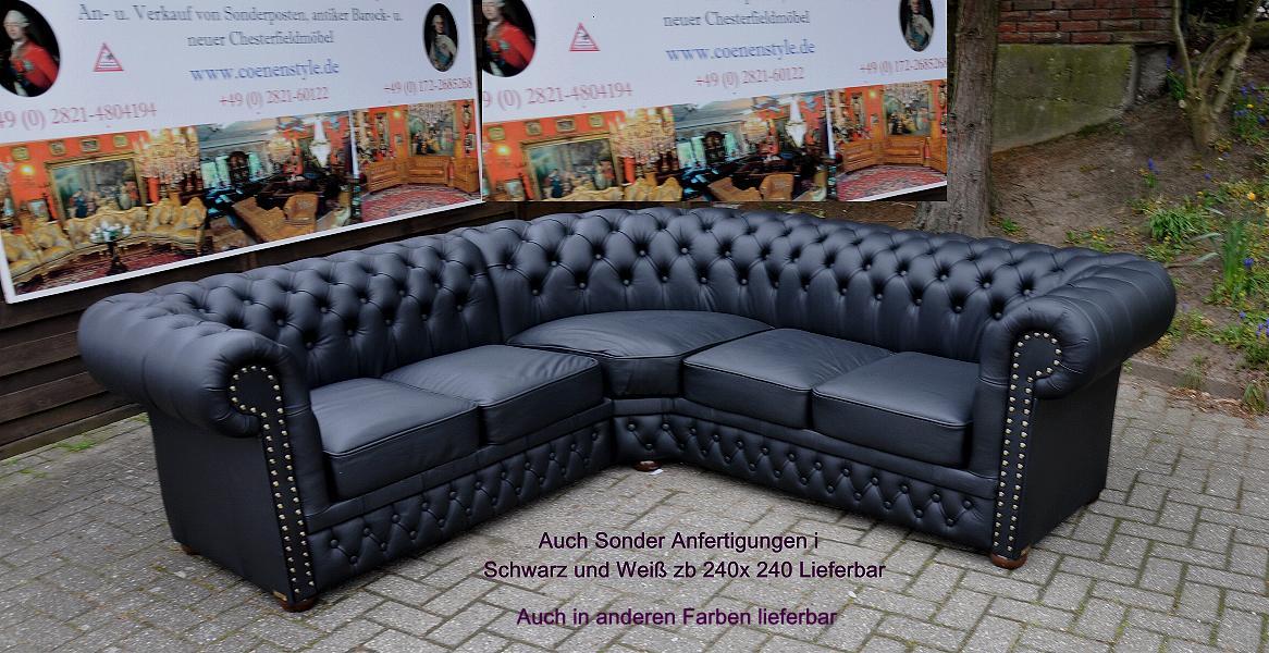Ecksofa Chesterfield 240x290 Oder 290x240 Cccc 2018 Ebay