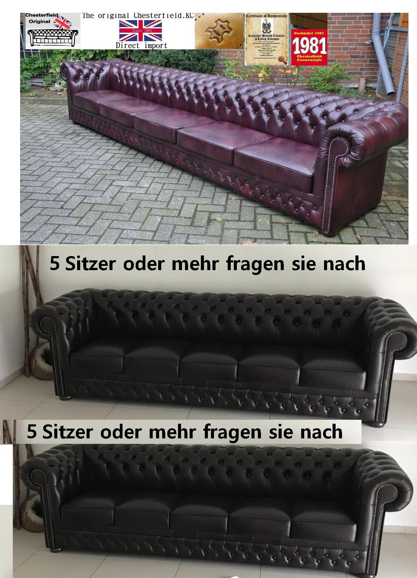 Chesterfield rochester kc claridge 4 meter sofa 2018 xxl for Sofa 4 meter